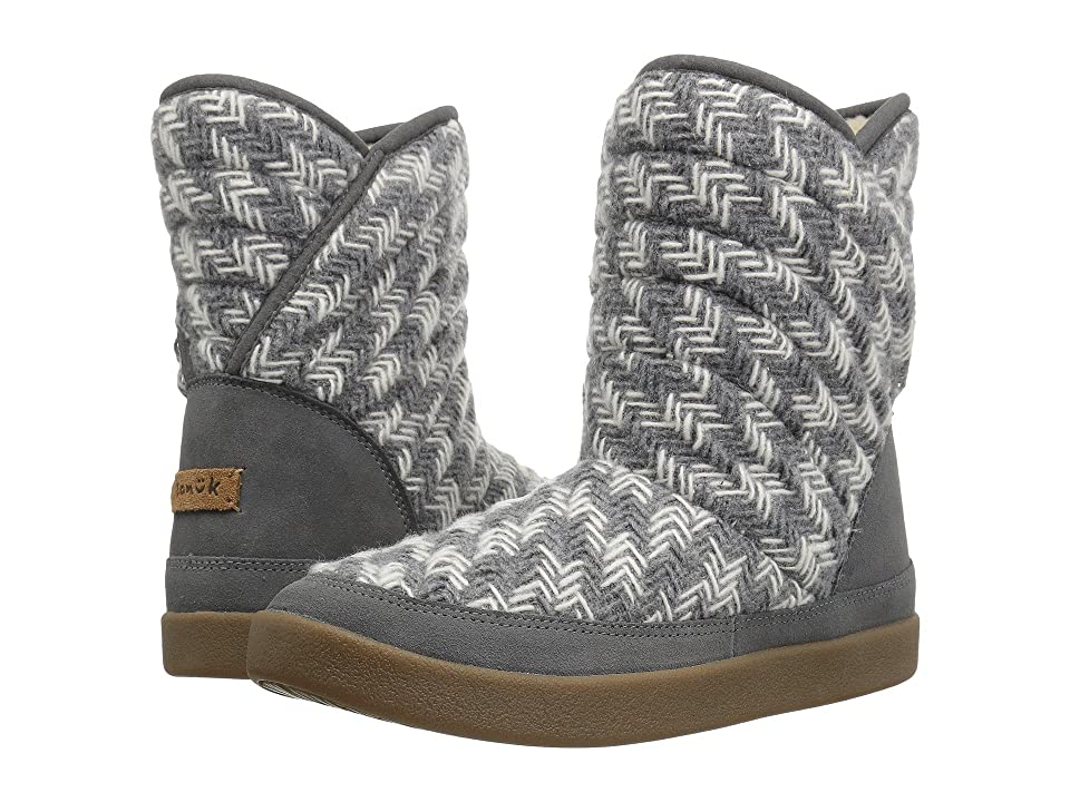 Sanuk Big Bootah (Grey Arrowooly) Women