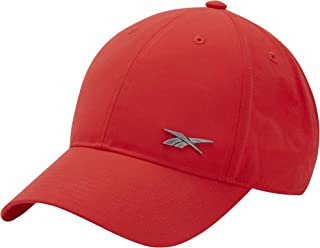 Reebok Unisex Acitve Foundation Badge Red Cap (One Size Fits All)