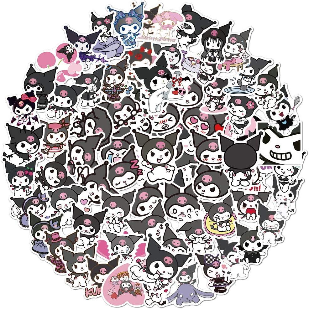 100PCS Cartoon Stickers Kawaii Anime for 1 year warranty Girls Tee Award-winning store Kids