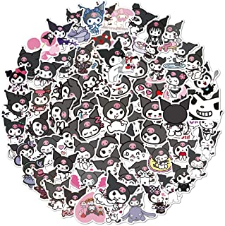 100PCS Kurom_i Stickers Kawaii Anime Stickers for Girls Kids Teens Adults Vinyl Waterproof Stickers for Water Bottles Lugg...