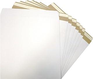 400 x '7 Zoll' (weiß) mit Goldfarbener Versandtaschen B00C67HPSA  Verbraucher zuerst