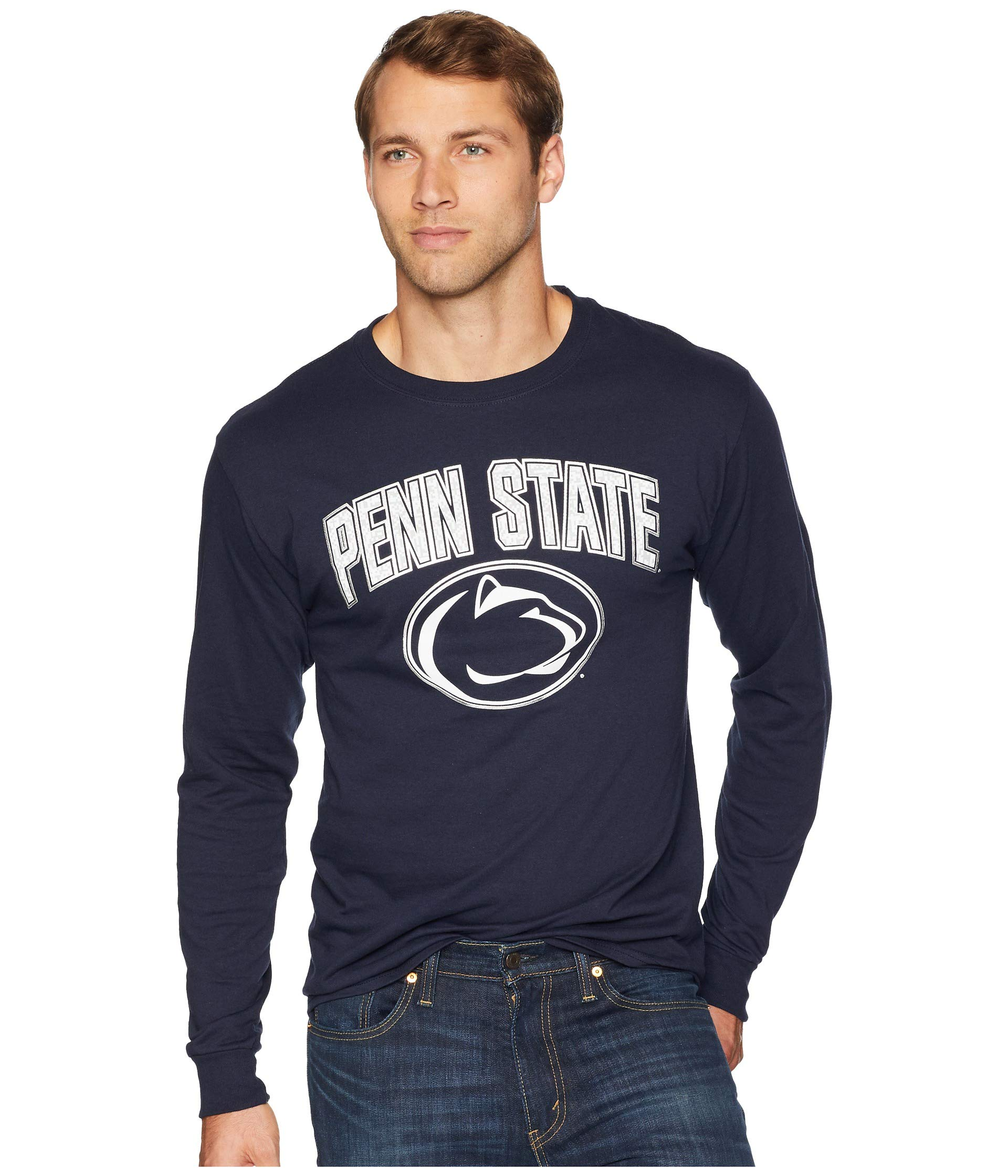 Champion Lions Sleeve College Tee Navy Penn Jersey Long State Nittany wrrRIq