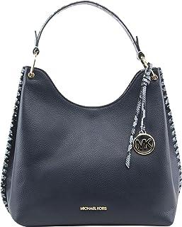 MICHAEL Michael Kors Women's Joan Large Slouchy Shoulder Bag in Navy, Style 35S1GV9L3E.