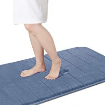 Yimobra Memory Foam Bath Mat Large Size,70 x 24 Inches Soft and Comfortable, Super Water Absorption, Non-Slip, Thick, Mach...