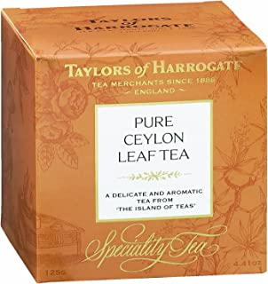 Taylors of Harrogate Pure Ceylon Loose Leaf, 4.41 Ounce Carton