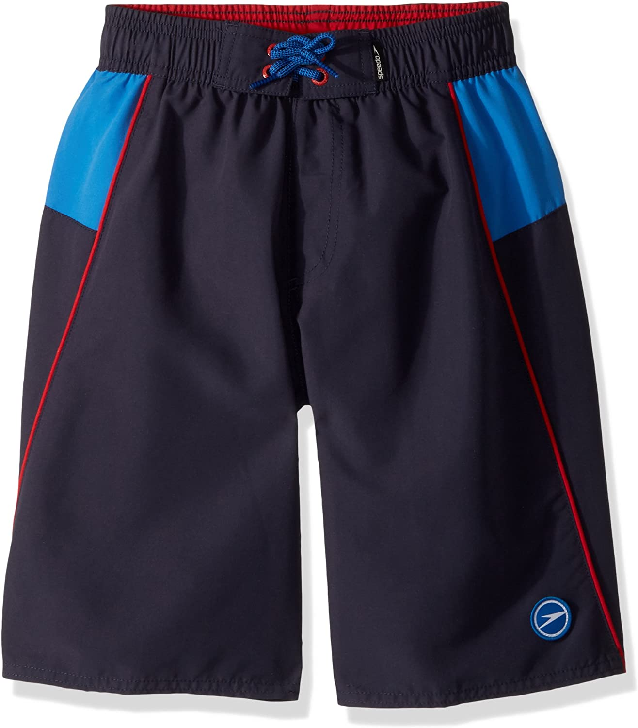 Speedo Boy's Swim Trunk New mail order Solid Volley-Discontinued Length Knee Outlet ☆ Free Shipping