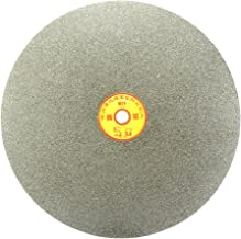 uxcell 250mm 10-inch Grit 60 Diamond Coated Flat Lap Disk Wheel Grinding Sanding Disc