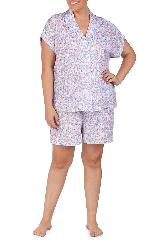 [ラルフローレン] レディース ナイトウェア Lauren Ralph Lauren Short Pajamas (Plus [並行輸入品]