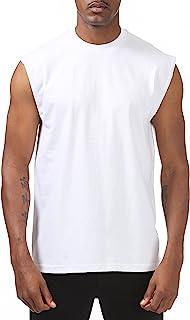 34ac7043d3001e Pro Club Men s Heavyweight Sleeveless Muscle T-Shirt