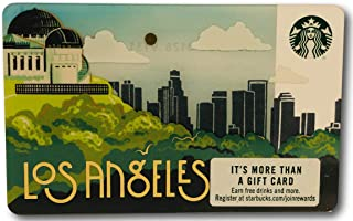 Starbucks Gift Card Collectible Los Angeles City Griffin Observatory No Value