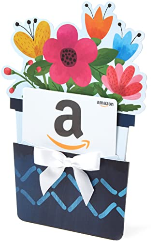 Amazon.com Gift Card for Any Amount in a Flower Pot Reveal