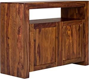 massivum Sideboard Country 116x89x45 cm Palisander braun lackiert