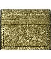 Bottega Veneta - Metallic Intrecciato Card Case