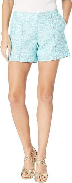 Ivana Pintuck Shorts