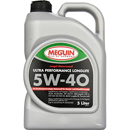 Meguin 4361 Megol Ultra Performance Sae 5 W 40 1 L Auto