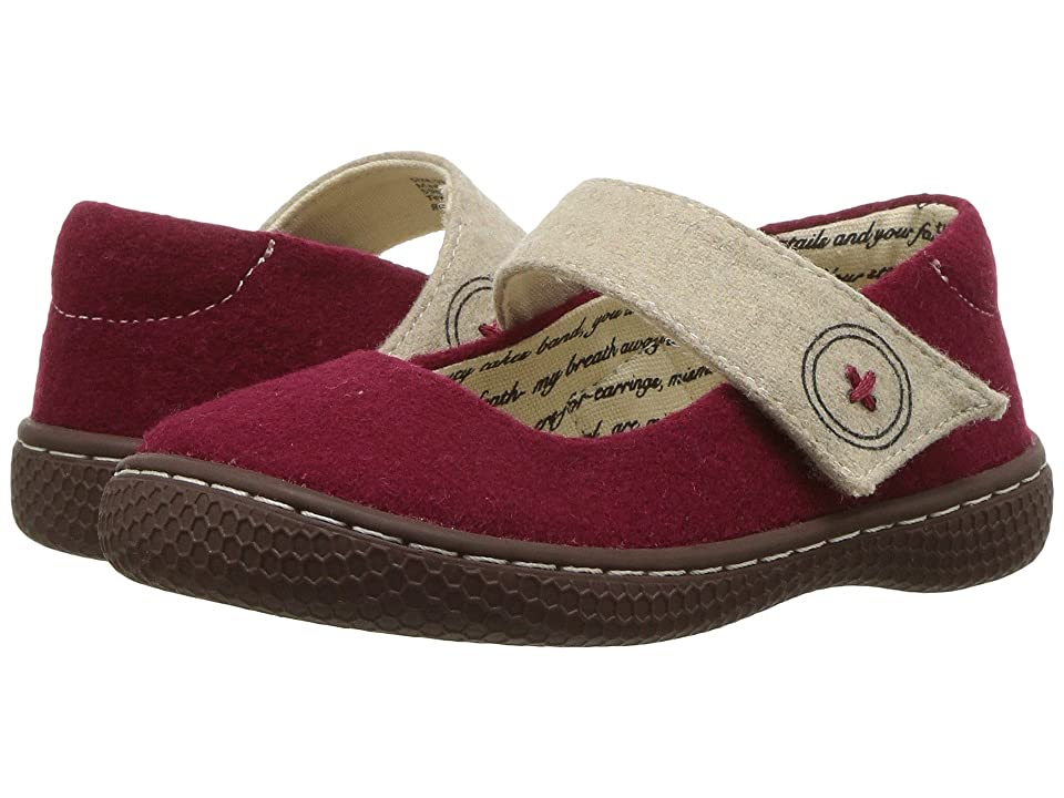 Livie & Luca Carta II (Toddler/Little Kid) (Dark Red) Girl