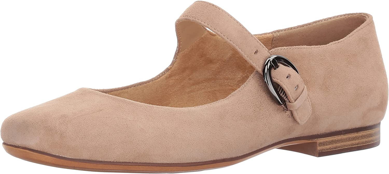 Naturalizer Womens Erica Mary Jane Flat