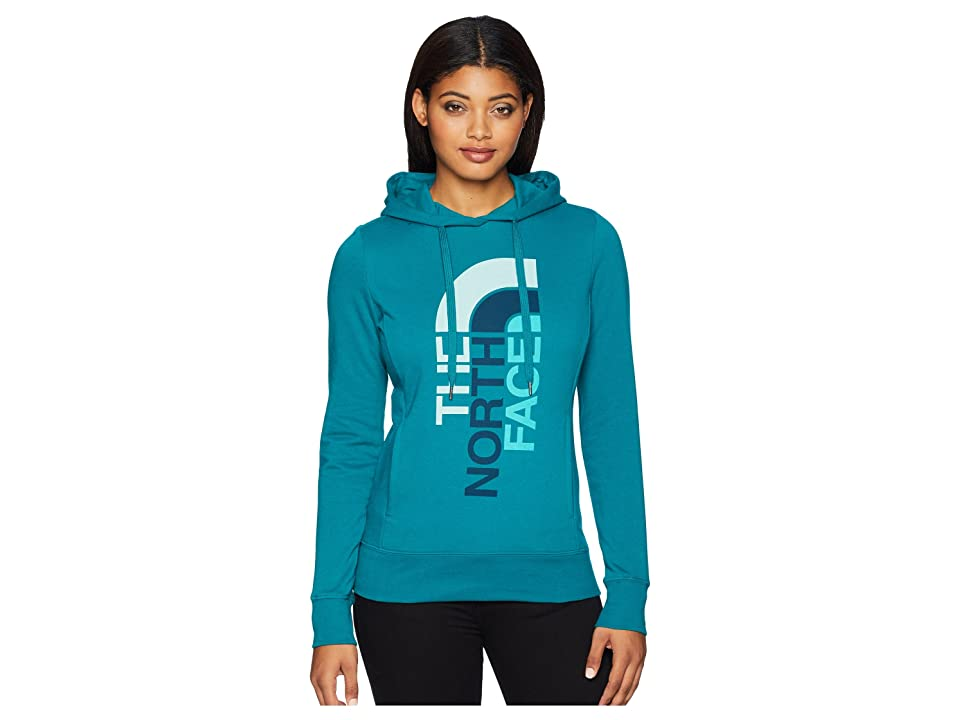 The North Face Trivert Pullover Hoodie (Everglade/Blue Haze Multi) Women