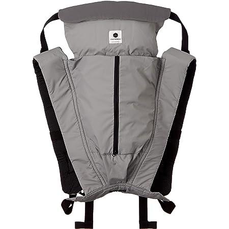 日本エイテックス サンクマニエルキューブ 新生児から使える 5WAY抱っこひも コンパクトに収納できる ポケッタブル グレー 0か月~ 01-125