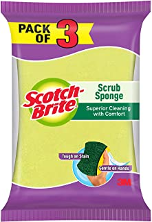 Scotch-Brite Scotch Brite Scrub Sponge - Pack of 3