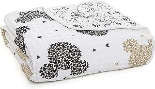 Aden + Anais Dream Blanket   Boutique Muslin Baby Blankets for Girls & Boys   Ideal Lightweight Newborn Nursery & Crib Blanket   Unisex Toddler & Infant Bedding, Shower & Registry Gift, Mickey's 90Th