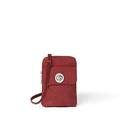 Baggallini International Lima RFID Mini Bag (Russet Red) Cross Body Handbags