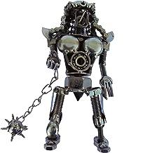 """col-p Aliens Predator Figure 7"""" Hybrid Scrap Welded Metal Professional Handmade Sculpture Made of Screws,Bolts,Nuts Metal Art Movie"""
