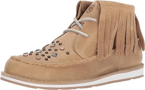 ARIAT - Chaussures Cruiser Chukka Cppuccno pour Femmes, 41 M EU, Beige Khaki