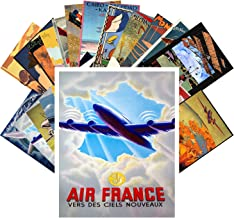 airplane postcards