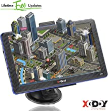 7inch Truck GPS xgody 886 Trucking GPS Xgody GPS Navigation for car Navigation 8GB ROM SAT NAV System Navigator Driving Alarm Lifetime Map Updates Truck GPS Navigation System for Trucks