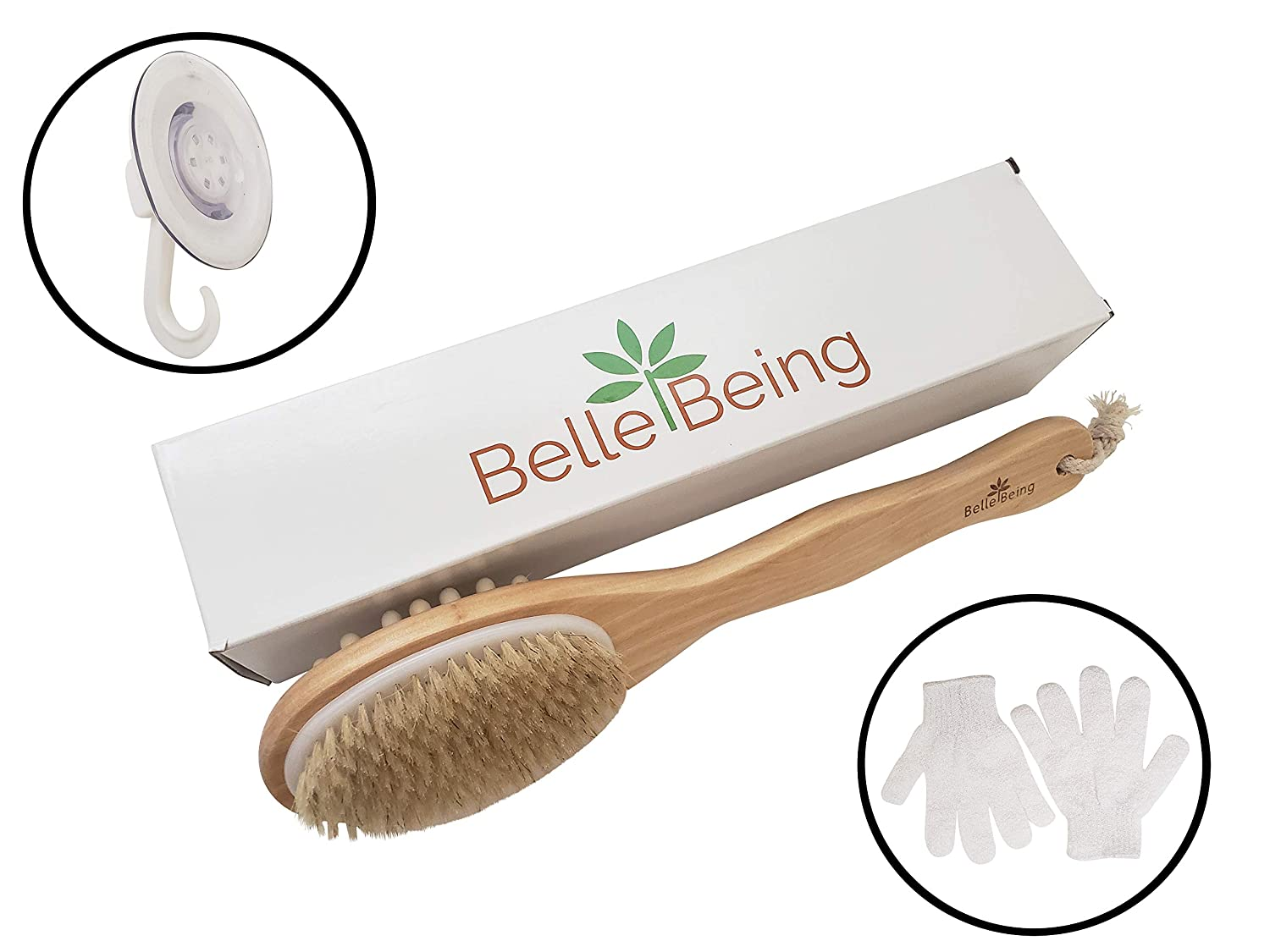 Dry Brush for Cellulite Wholesale and Lymphatic Brushing Drainage. unisex Bod