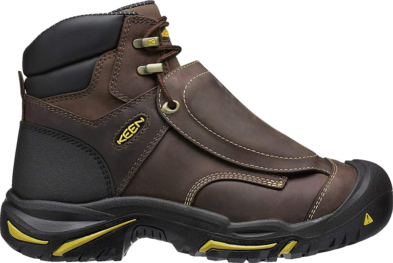 Keen Utility Men's MT. Vernon Met Industrial and Construction schuhe, Cascade braun, 7.5 2E US