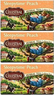 Celestial Seasonings Herbal Tea Sleepytime Peach (3 Pack)