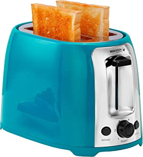 Holstein Housewares HH-09175001E 2 Slice Toaster with 7 Browning Levels, Teal
