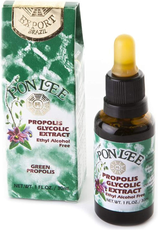 PON LEE Brazil Green Bee Propolis 30ML 大放出セール Extract Liquid NO Alcohol 入荷予定