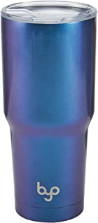 BUILT 5227239 Vacuum Insulated Tumbler Double Wall, 30-Ounce, Iridescent Blue