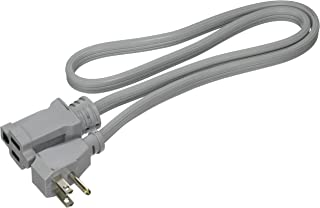 Prime, Gray, EC680503L Air Conditioner and Major Appliance Extension Cord, 3-Feet