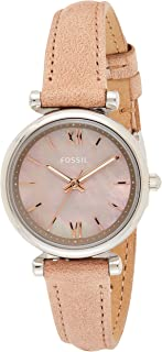 Fossil Casual Ladies Wrist Watch, Brown