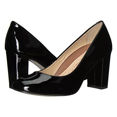 Walking Cradles Matisse (Black Patent) High Heels