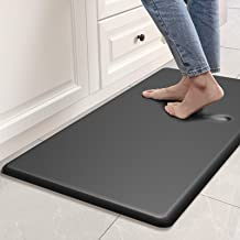 DEXI Anti Fatigue Comfort Mat Kitchen Rug, 3/4 Inch Cushioned Memory Foam Floor Mat for Kitchen, Sink and Office Standing ...