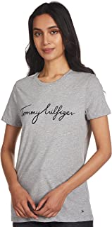 Tommy Hilfiger Womens HERITAGE CREW NECK GRAPHIC TEE T-Shirt (pack of 1)