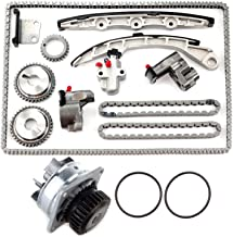SCITOO TS20967 Timing Chain Water Pump fits for 2002-2007 Nissan Murano 350Z Maxima VQ35DE 3.5L
