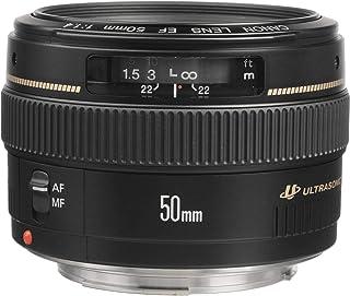 Canon EF 50mm f-1.4 USM Lens, Black