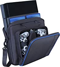 EEEKit Carrying Case Compatible with Playstation 4 / PS4 Slim & PS4 Pro, Accessory Storage for Controllers, Cables, Headsets and Other Accessories