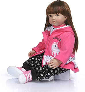 Binxing Toys 24 inch Reborn Doll Toddler Clothes, Princess Dress, Doll Accessories for 24 inch(only Clothes no Doll Include) (11)