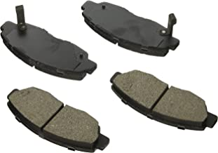 Bosch BE465H Blue Disc Brake Pad Set with Hardware for Select Acura CL and Honda Accord Vehicles - FRONT