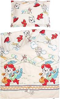 61ad75cf48fbb Tommy le chat botté - Pati Chou 100% Coton Linge de lit pour bébé