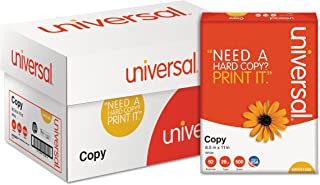 $68 » Product of Universal 20-lb. Copy Paper, 92 Brightness, Letter, 5,000 ct. - White - All Paper & Printable Media [Bulk Savings]