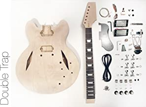DIY Electric Guitar Kit - Semi Hollow Diamond Build Your Own Guitar Kit