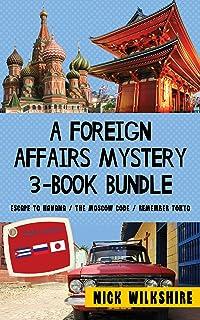 A Foreign Affairs Mystery 3-Book Bundle: Escape to Havana /